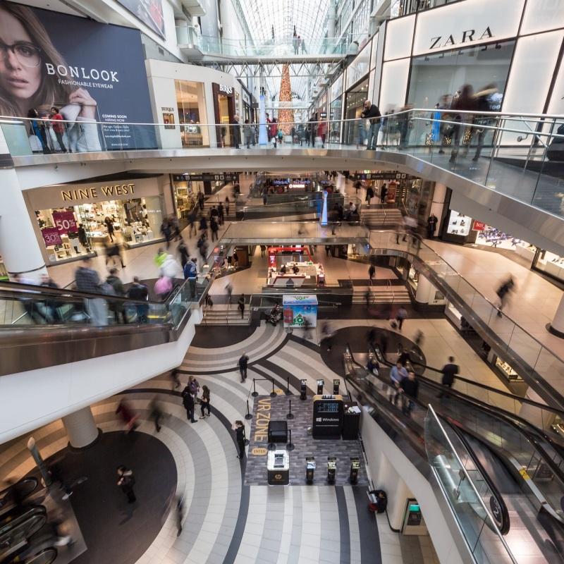 negozi per shopping
