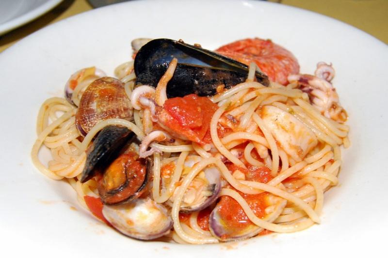 Spaghetto di pesce