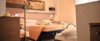 Camera 5 posti Hotel Doria