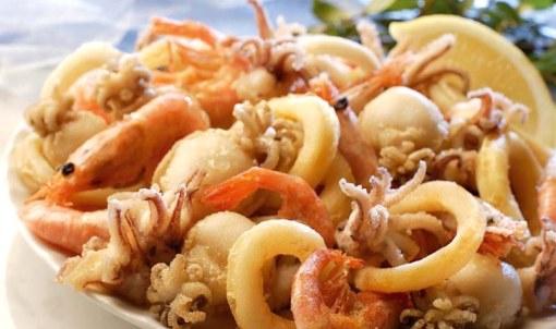 fritto pesce ristorante hotel doria