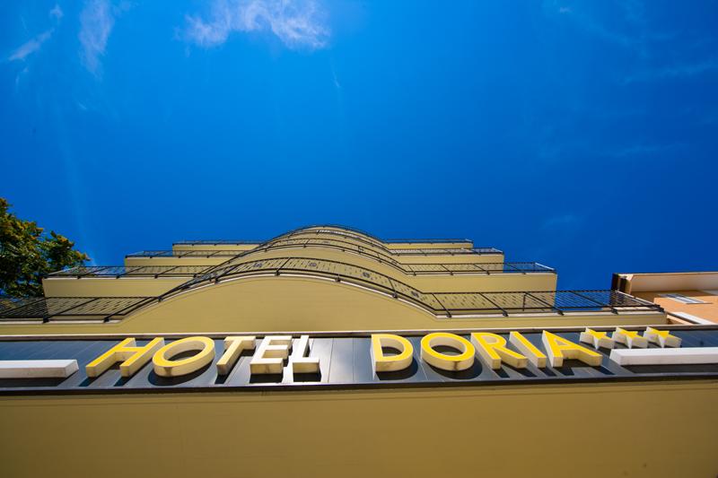 Ingresso Hotel Doria 3 stelle a San Benedetto del Tronto