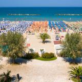 spiaggia vicino hotel san benedetto del tronto